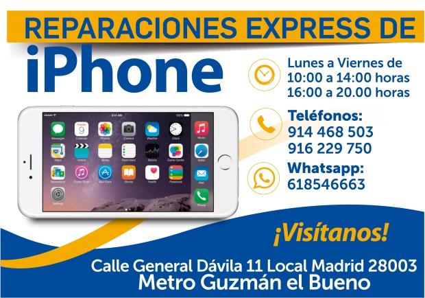 reparacion apple iphone ipod