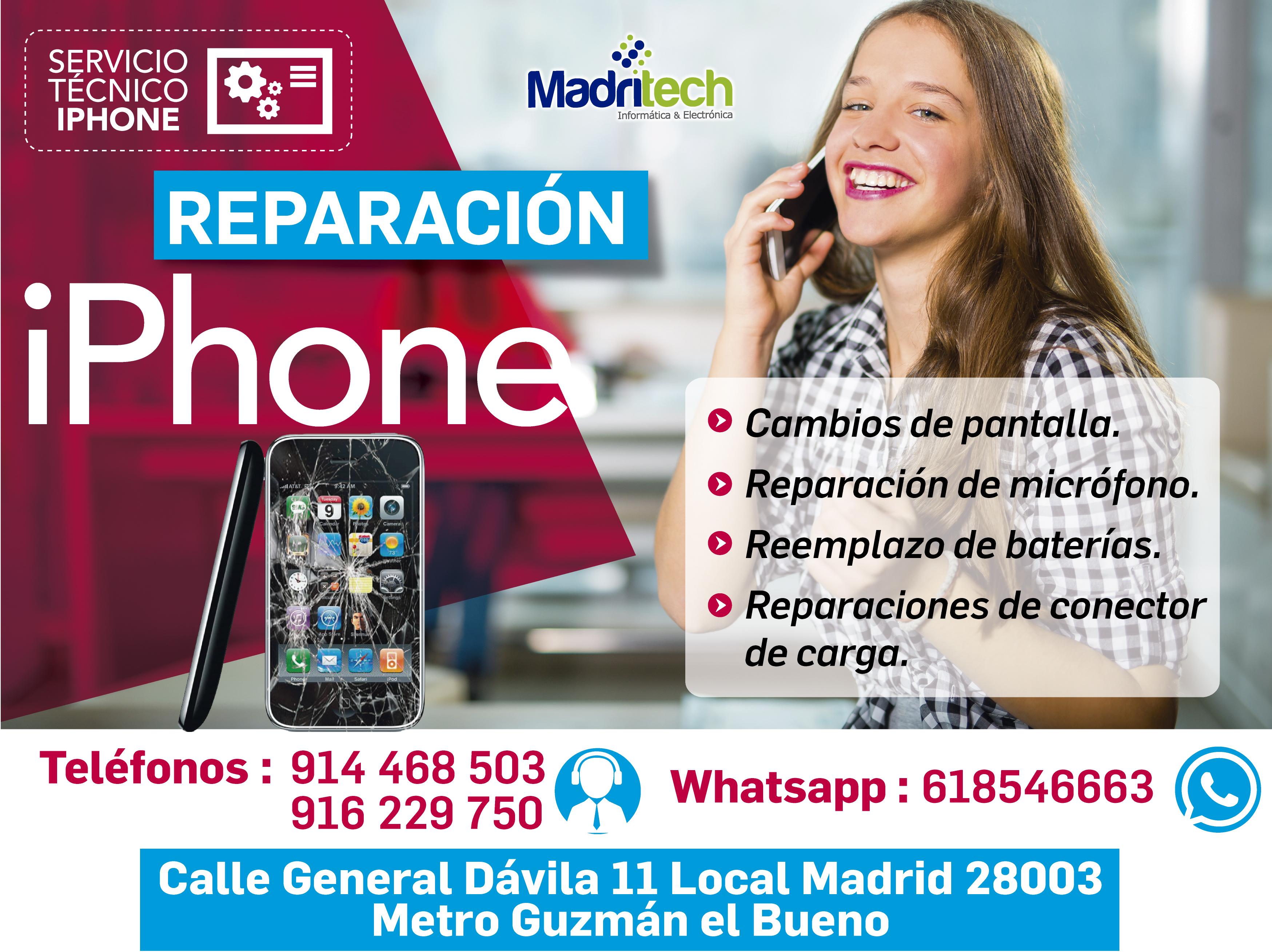 reparacion de iphone en madrid