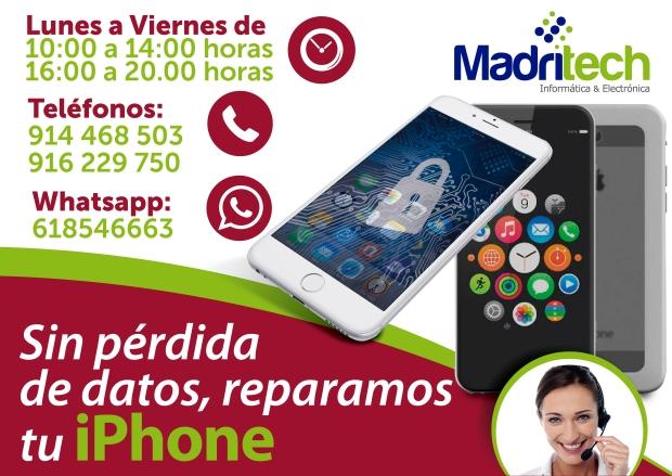 reparacion de lcd iphone madrid