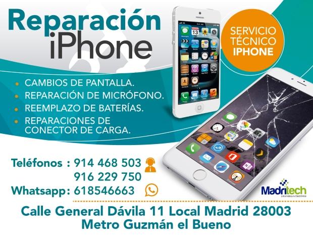 4720d963a98 Reparación Urgente de iPhone en Madrid – Servicio Tecnico para iPhone
