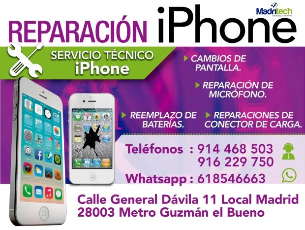 800802e47c6 Reparación de pantallas de iPhone o iPad en Madritech – Servicio ...