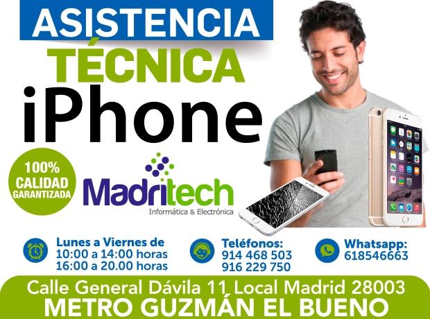 asistencia tecnica iphone
