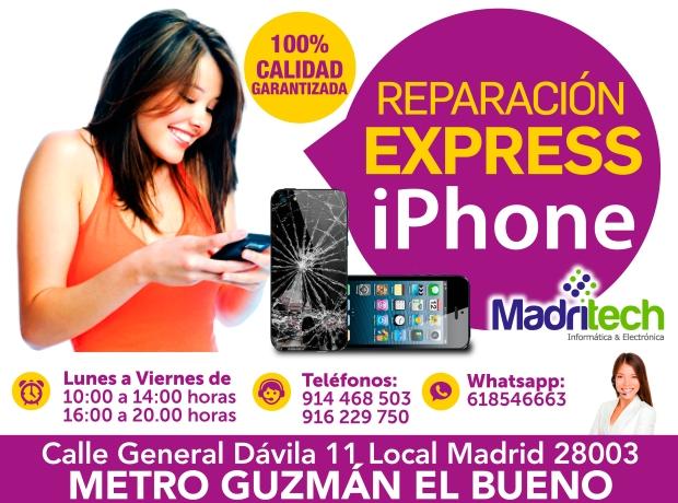 reparacion express iphone