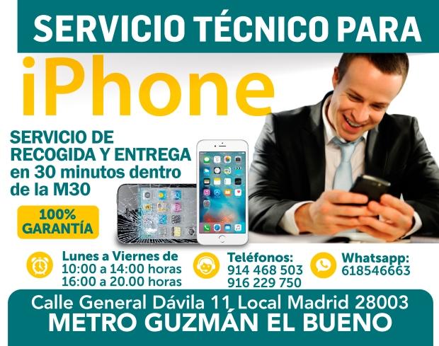 916 229 750 eficacia en reparacion iphone