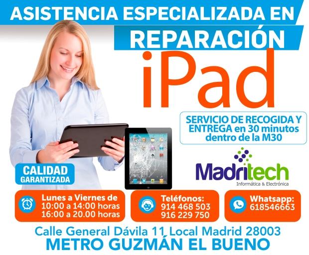 asistencia tecnica especializada ipad