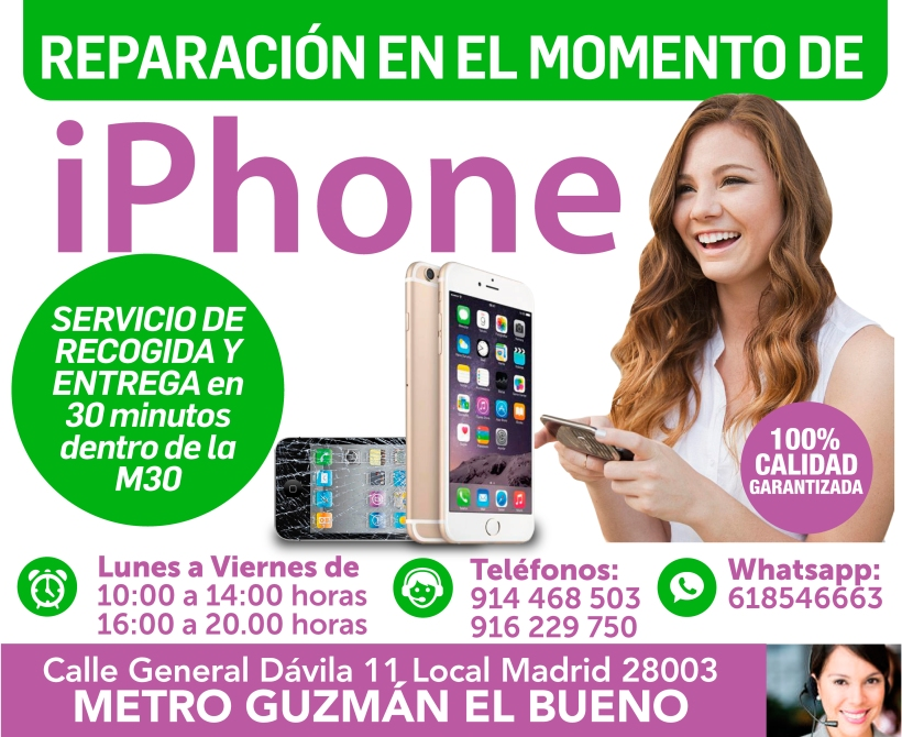 garantia total de tu iphone en madrid