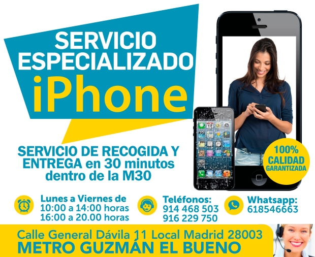 Local Madrid 28003 tecnologia iphone