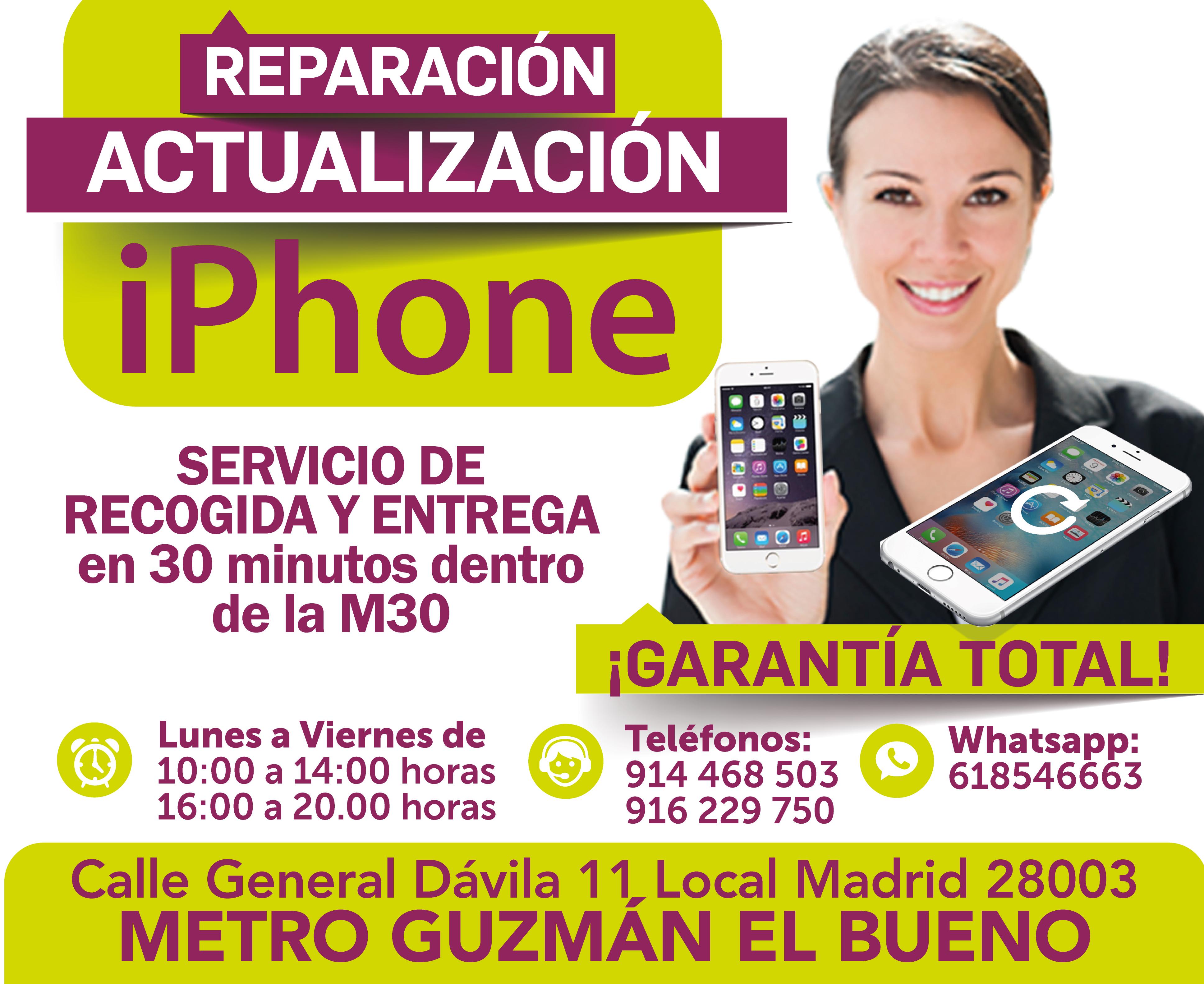 profesionales para urgencias iphone madritech