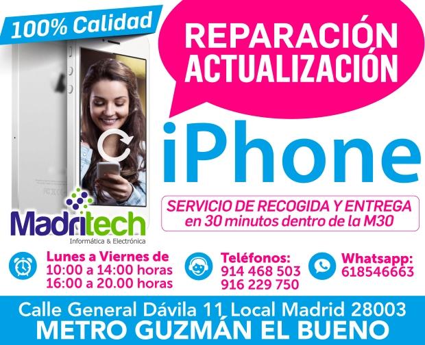 reparacion, actualizacion iphone