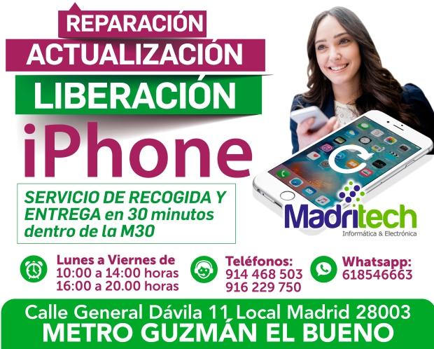 reparacion, actualizacion, liberacion, iphone