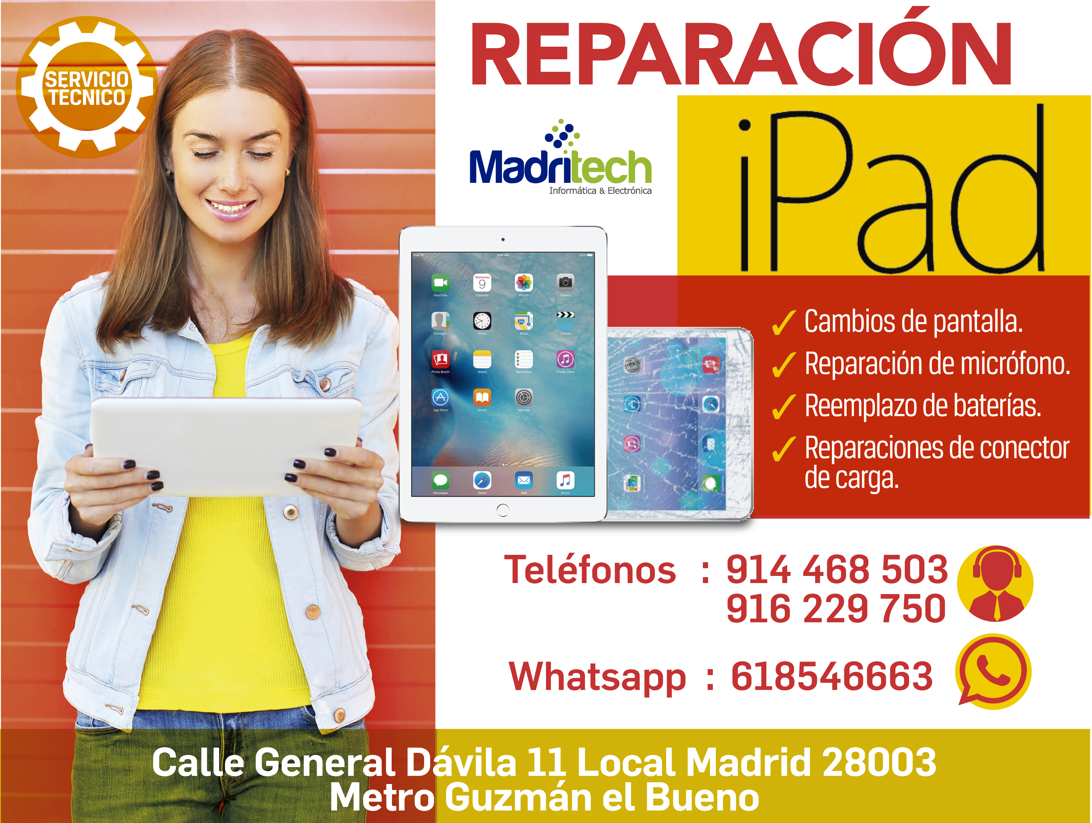 TECNICOS IPAD MADRID