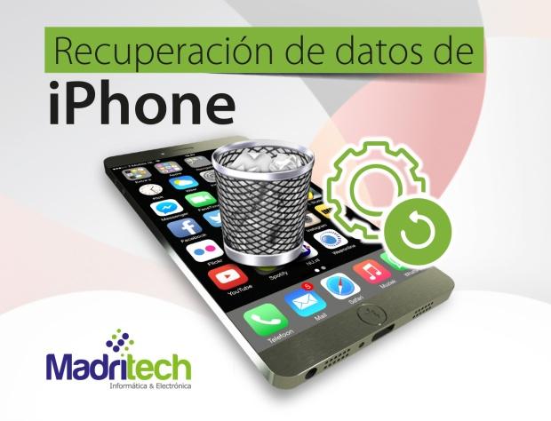 recuperacion + iphone