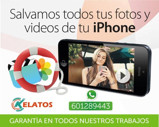 recuperacion de videos de iphone madrid