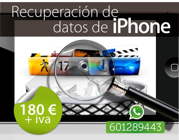 recuperacion de archivos de iphone