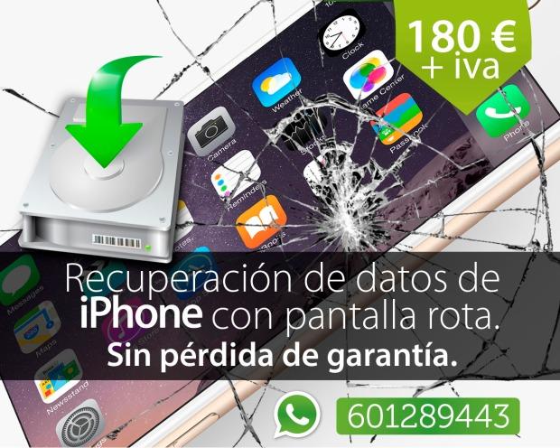 recuperar archivos de iphone en madrid