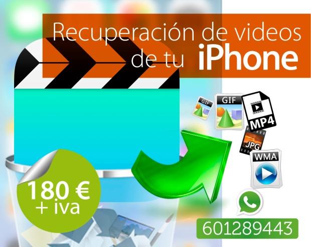 salvar datos de iphone videos