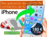 recuperar datos de iphone